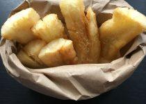 yuca frita (cassava or yucca fries)