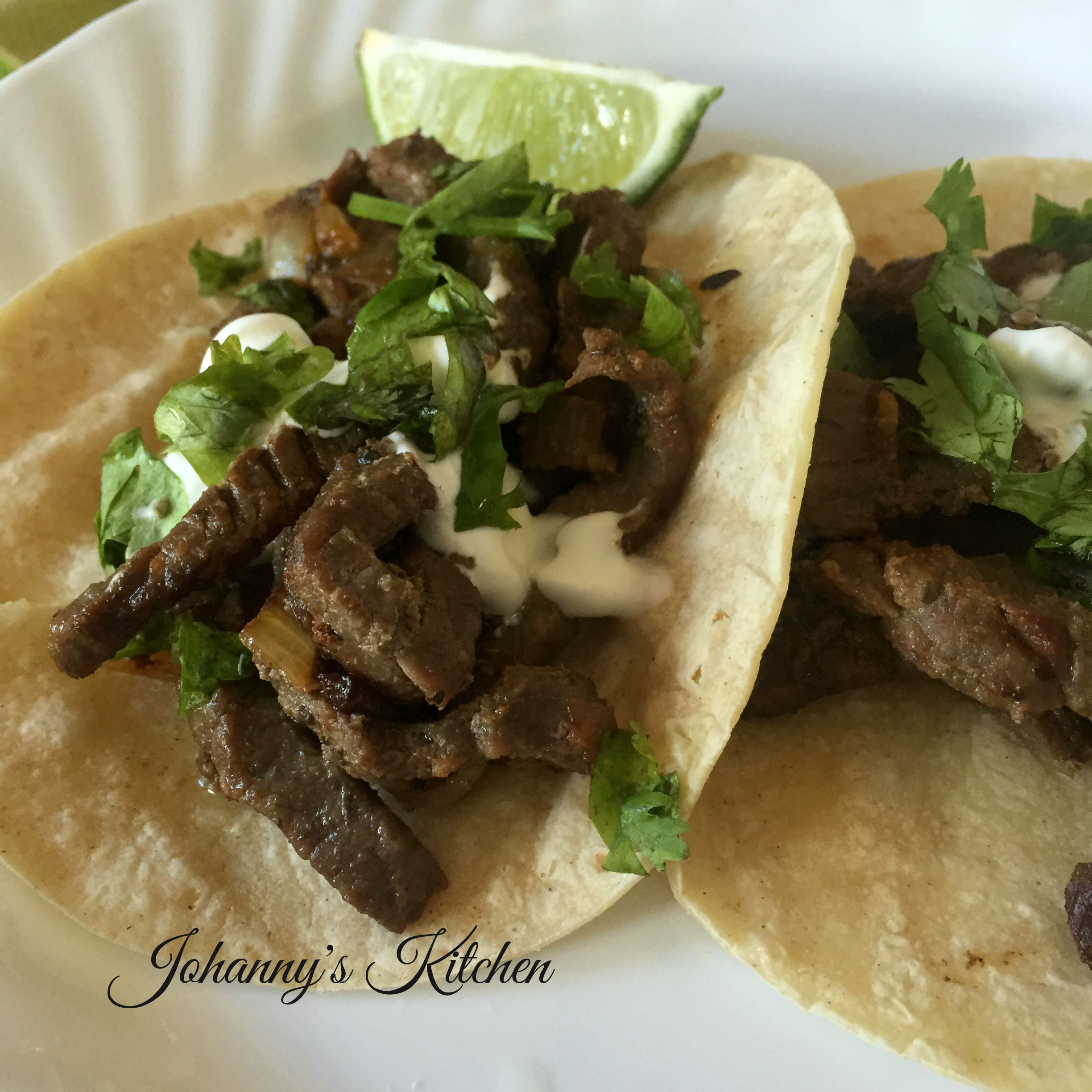 Beef Tacos with Daisy® Squeeze sour cream