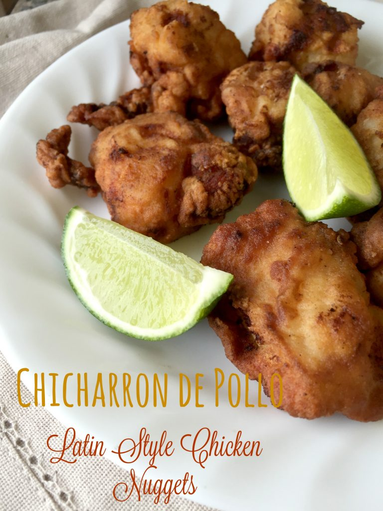 chicharron de pollo