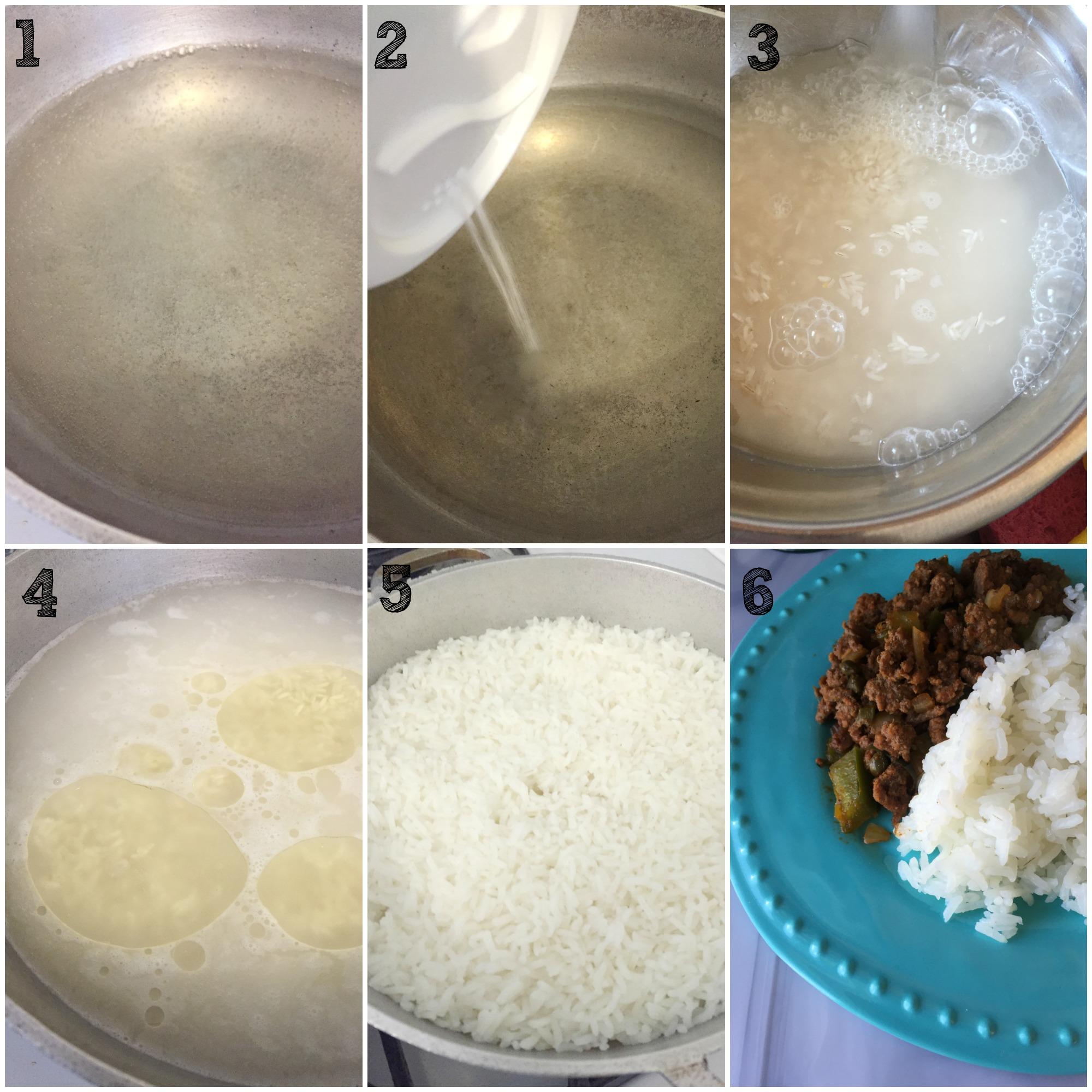 Cooking White Rice How To Make Latin Style White Rice '�  Johanny's Kitchen