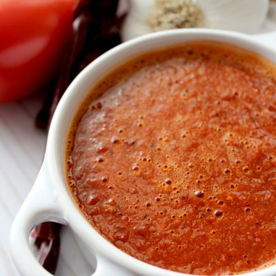 Chiles Guajillos Sauce (salsa de chiles guajillos)