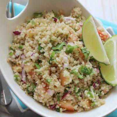 Quinoa Salad (Ensalada de Quinoa)