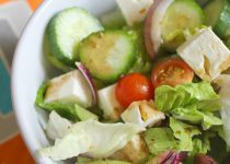 Greek Salad with balsamic vinaigrette