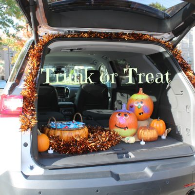 Celebrating my Birthday with Chevrolet Traverse + Easy DIY Trunk or Treat